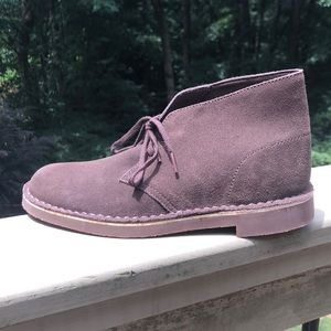 Clarks Desert Boot Brown Suede Size 7